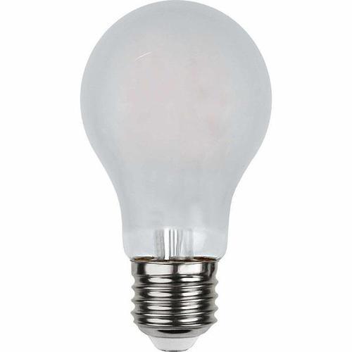 LED Filament gefrostet dimmbar 4,8 Watt 500 Lumen (ersetzt 42 Watt) warmweiß 2700 Kelvin 80 Ra E27