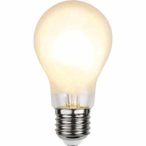 LED Filament gefrostet dimmbar 7 Watt 810 Lumen (ersetzt 60 Watt) warmweiß 2700 Kelvin 80 Ra E27