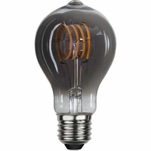 "LED ""Spiralfilament"" rauchglas, Glühlampe, dimmbar -  3,7 Watt 70 Lumen"