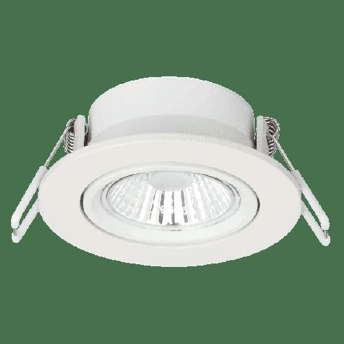 Einbaustrahler - 6 Watt dimm to warm Weiß