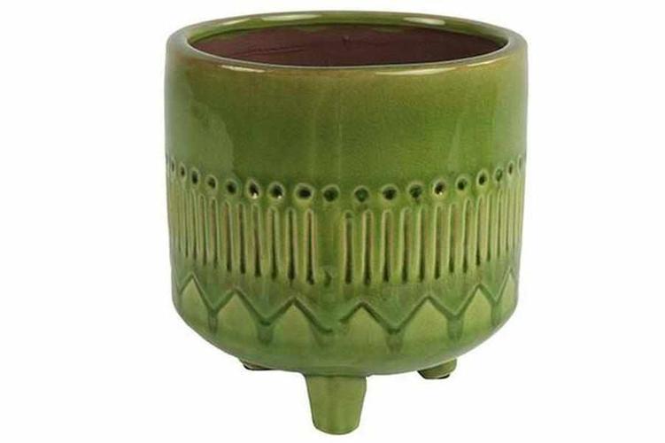 Übertopf - Lori grün