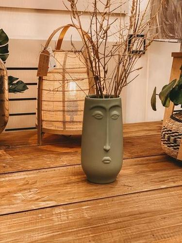 Vase - Cara hellgrün