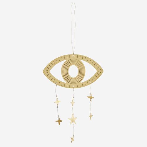 Dekoration - Auge mit Sternchen