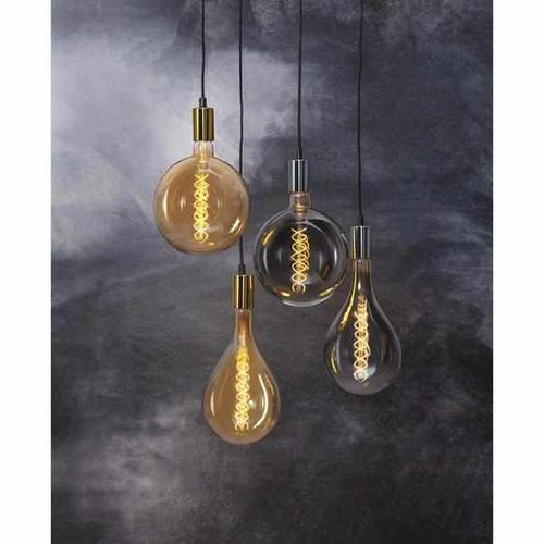 "LED Filament ""Industriell "" Amberglas dimmbar 6 Watt 230 Lumen, 20cm, 2000 Kelvin 90 Ra E27"