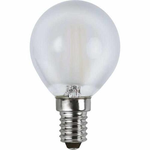LED Filament gefrostet dimmbar 4 Watt 350 Lumen (ersetzt 32 Watt) warmweiß 2700 Kelvin 80 Ra E14