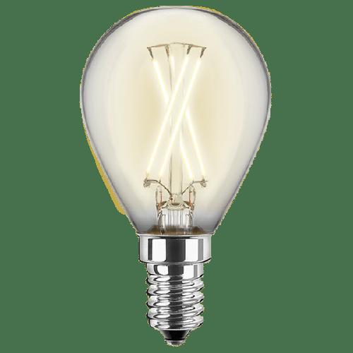 LED Filament Glühfaden Tropfen 4 Watt 470 Lumen (ersetzt 40 Watt) warmweiß E14