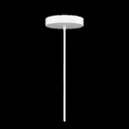 Fassung Metall  - schwarz / weiß