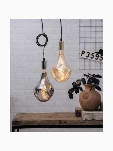 "LED Filament ""industriell"" Amberglass 3,8W dimmbar 160LM eingedrückter Tropfen"
