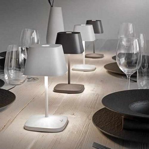 Tischleuchte - Noel (weiß-schwarz)