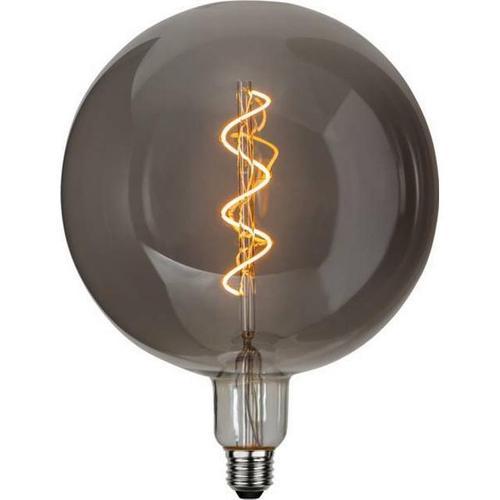 LED Filament Leuchtmittel - Kugel 20cm Chrom