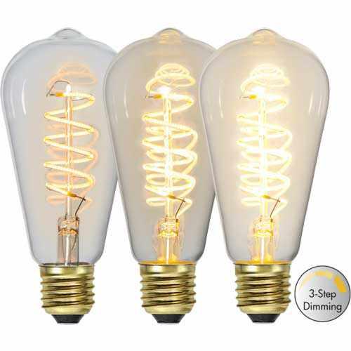Leuchtmittel - Switch dimm Kolben