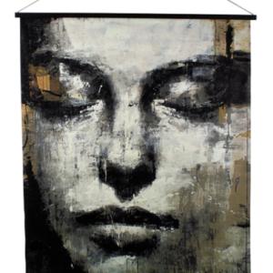 Wandbild - Goldenface