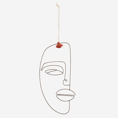 Wanddekoration - Face