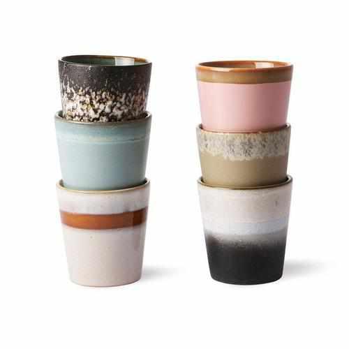 Kaffebecher - Vintage (12 verschiedene Varianten)