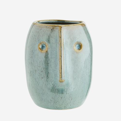 Vase - Pilo beige/grün