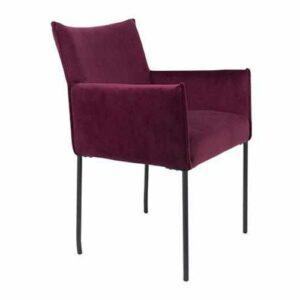Armlehenstuhl - Velvet Purple